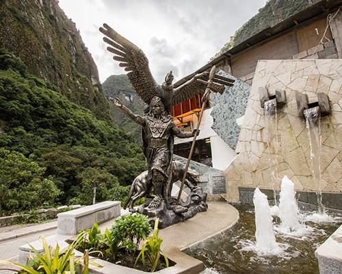 Monumento Inka en ollantaytambo