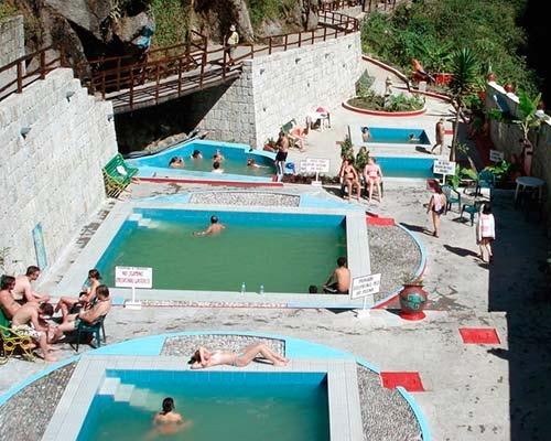 Aguas Termo-medicinales en Machu Picchu Pueblo