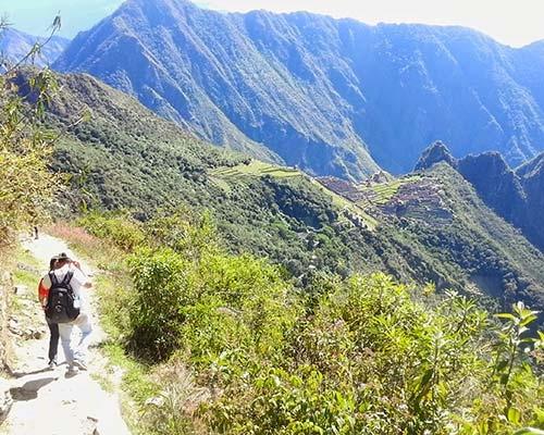 Vista de Machupicchu desde Inti Punku
