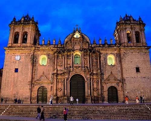 Basílica Catedral de la ciudad de Cusco.