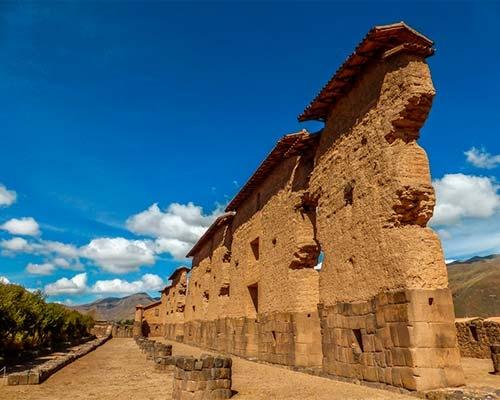Raqchi, El Templo del Dios Wiracocha.