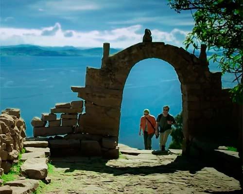 Isla de Taquile en Puno