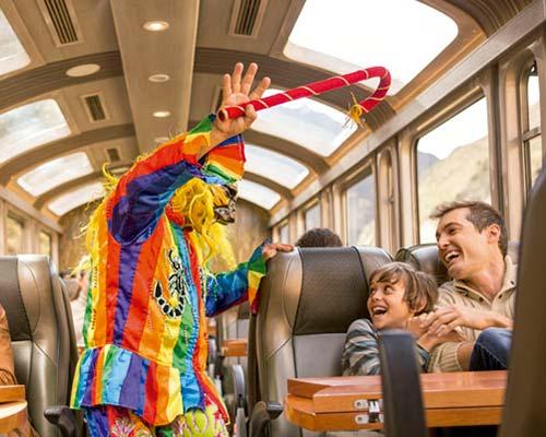 Tren Vistadome - Peru Rail
