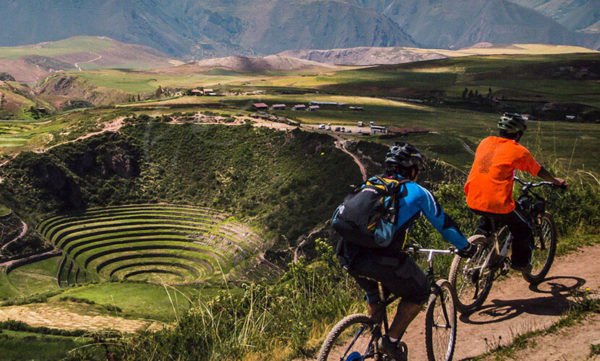 Moray centro arqueológico en Cusco