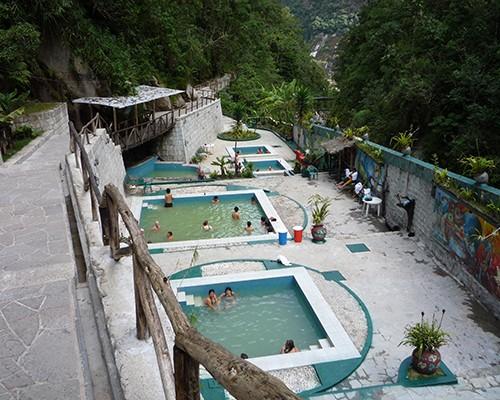 Agua Termales de Cuidad de Machupicchu.