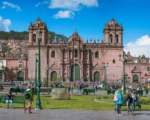 City Tour en la ciudad del Cusco-Plaza de Armas