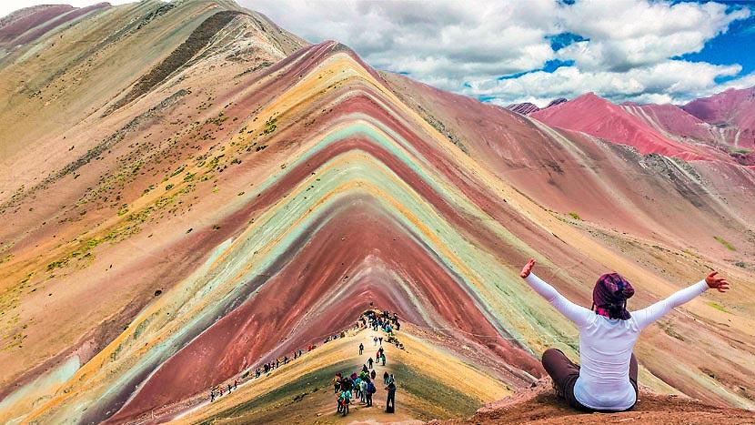 Resultado de imagen para montaña 7 colores