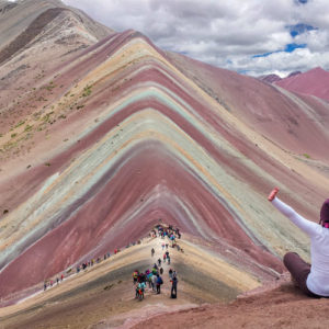 Montana de siete colores Vinicunca Cusco