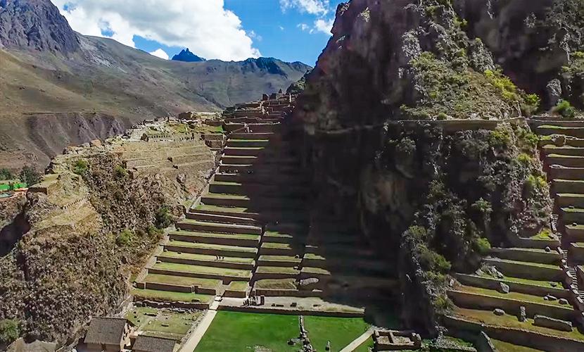 Ollantaytambo parte del Valle sagrado de los Incas