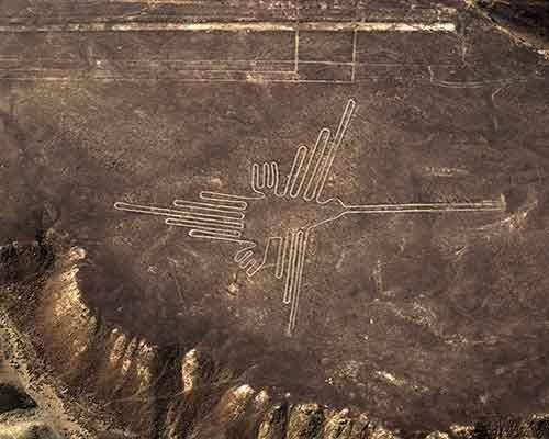 Lineas de Nazca Colibri